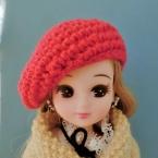 ミニチュア シンプルベレー帽