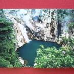 自然の風景のデコパージュ