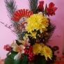 新春の盛り花