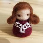 *羊毛の指人形*