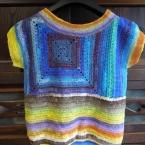 夏の編み物