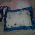 夜空のビーズ刺繍 ピンクッション