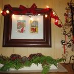 玄関にもクリスマス