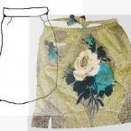 大好きだったスカートで作ったエプロン