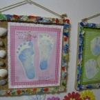 手形 足型の飾り