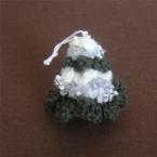 毛糸のクリスマスツリー
