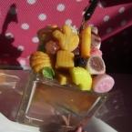 ・ω・うさぎ菓子盛り合わせメモスタンド・ω・