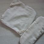 手縫いで簡単*+布ナプキン**ホルター+パッド
