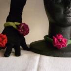 花のアクセサリー3種