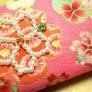 ビーズの桜モチーフ
