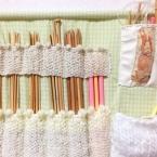 編み針ウォールポケット