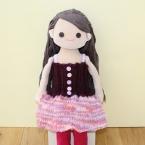 着せ替え人形アニカのニットワンピース