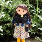 着せ替え人形アニカのミトン