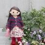 着せ替え人形アニカのロングカーディガン