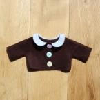 着せ替え人形アニカのフェルトジャケット