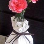 ワインの空き瓶を利用しておしゃれな花瓶