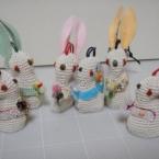 たこ糸で作るキーケース(ウサギ)