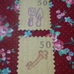 なんちゃって切手*