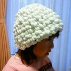 プードルモールでポコポコ帽子