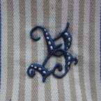 アルファベットの刺繍Ⅱ