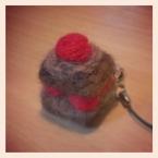 スクエアチョコケーキ