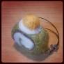 抹茶ロールケーキストラップ