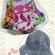 赤ちゃんチューリップハット 頭周り44、46cm