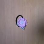 小花のヘアゴム