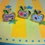 UVレジンでりんごの指輪