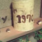 リサイクルでレトロ缶