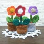 ほのぼのミニ花鉢