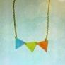 3角ネックレス