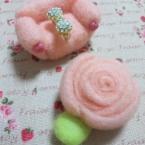 薔薇テーブル&ソファー