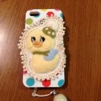 羊毛iPhoneカバー