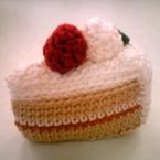 小さなショートケーキ