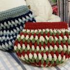 玉編みパックんポーチ