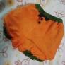 ハロウィン ベビーかぼちゃパンツ