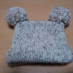 ♪簡単に作れる赤ちゃん帽子♪