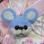 羊毛フェルト ネズミくん