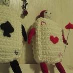 編み物の国のアリス…トランプ兵