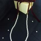 付け替え可能なパールのネックレス