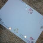◆消しゴムはんこでポストカード