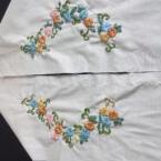 リボン刺繍の半衿(着物の衿)