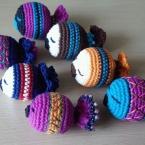 編みぐるみ金魚
