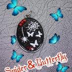 蜘蛛と蝶々