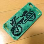 iPhoneにバイク☆