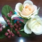 造花コサージュ