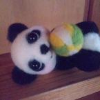 パンダちゃんとボール