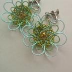 水引のお花のイヤリング