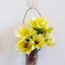 薬小瓶で簡単花器